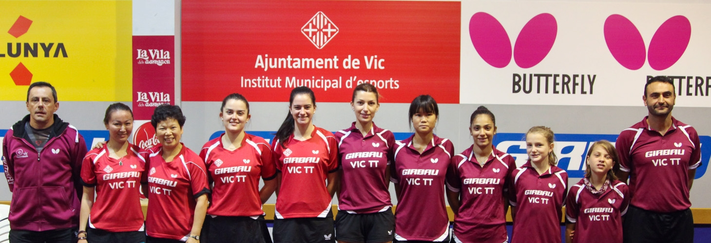 Equips femenins estatals SUF - DHF GIRBAU VIC T.T. Equips SUF i DHF Temporada 2017-18