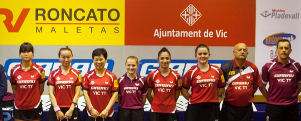 Equip Girbau Vic TT contra Etival a semifinals